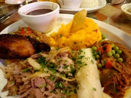 Cuban food in Key West