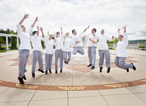 Jumping pictures! It's like we were meant to be.