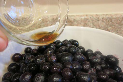 Adding in Vanilla Extract