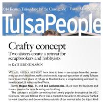 """Newlie"" published in TulsaPeople Mag!"
