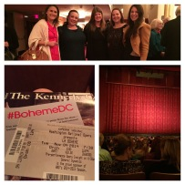 La Boheme - a night at the opera!
