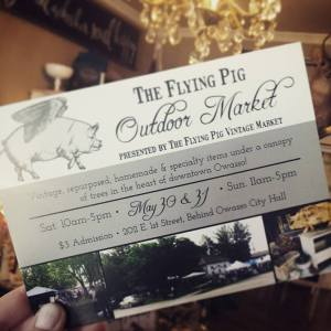 Flying Pig Vintage Market May 30 31