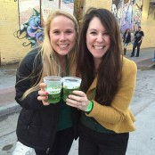 Our 1st Green Beer! St. Patty's celebration in Tulsa