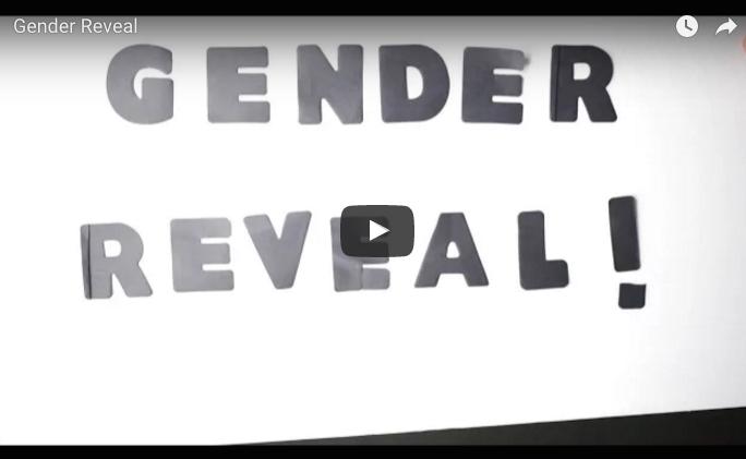Gender Reveal Pic