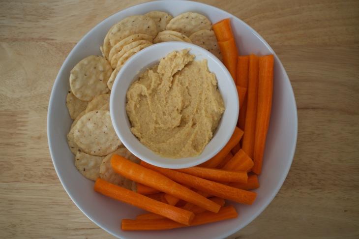 Homemade Hummus w/ sides